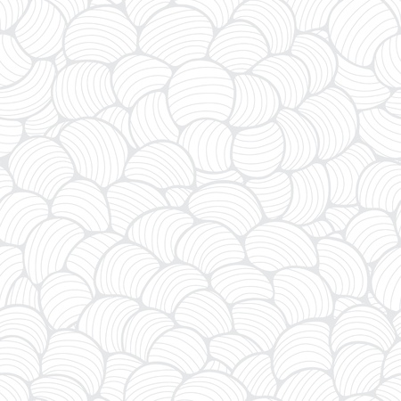 Seamless abstract wave hand-drawn pattern Stock Vector - 17824906