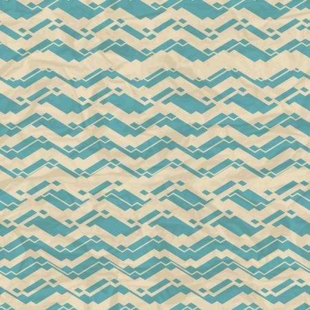 Seamless retro geometric pattern Stock Vector - 18002649