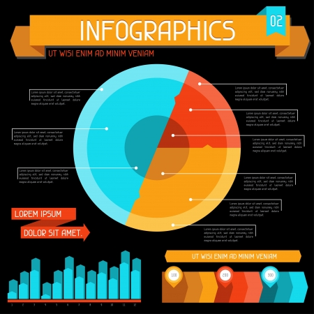 Infographics elements collection  Set 2 Stock Vector - 18548581
