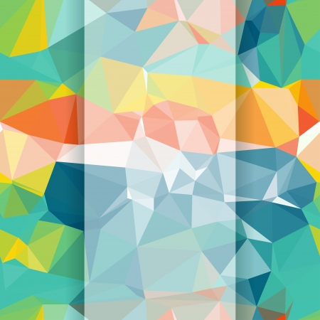 Seamless abstract geometric pattern with triangles  Stock Vector - 18563594