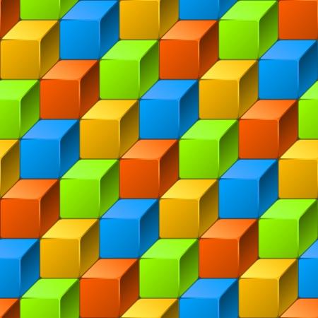 Résumé modèle homogène de cubes Vecteurs