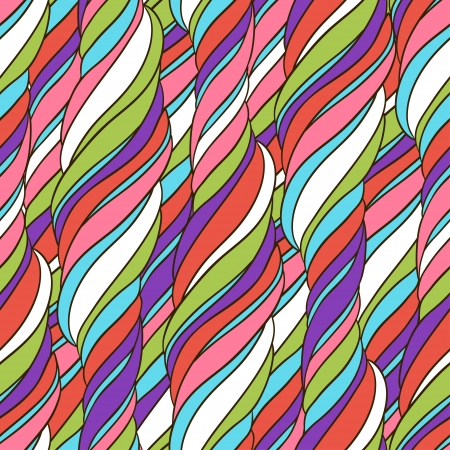 Seamless wave abstract hand drawn pattern Stock Vector - 19248042