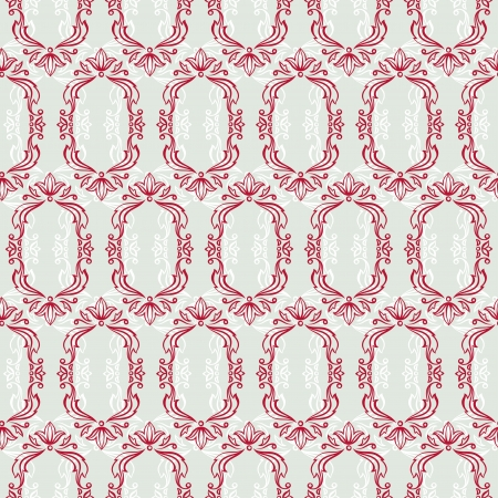 Seamless vintage wallpaper, floral pattern, retro wallpaper  Stock Vector - 19352451