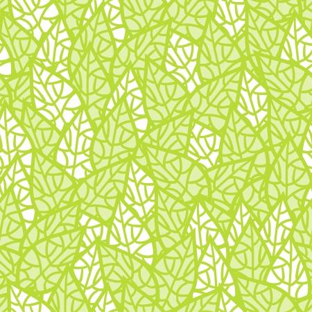Naadloos patroon met bladeren Stock Illustratie