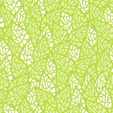 organic background: Seamless pattern with leaves