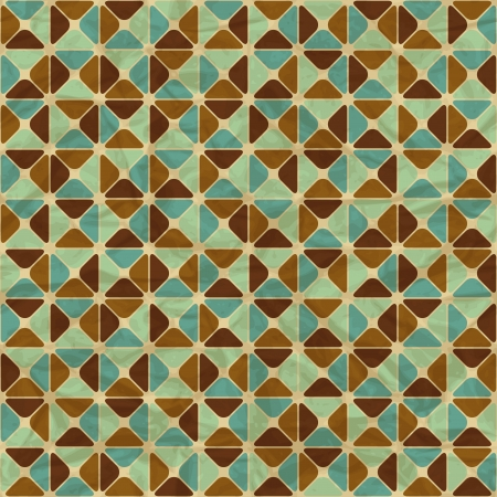 Seamless retro geometric pattern Stock Vector - 19441726