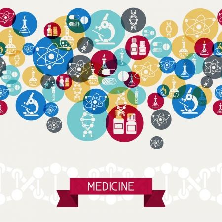 Médicale et le fond de soins de santé. Banque d'images - 20693564
