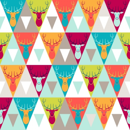 Hipster style seamless pattern  Stock Vector - 20913516