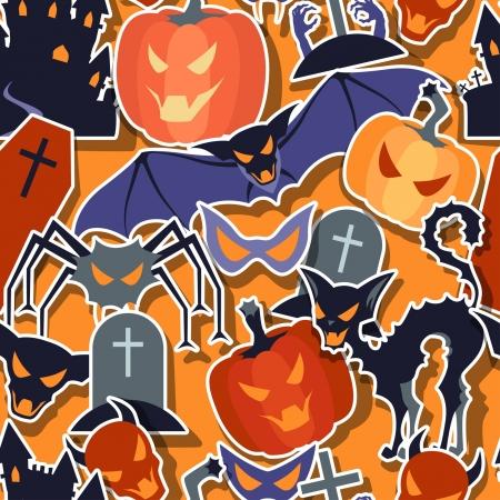 Halloween seamless pattern. Stock Vector - 21021291