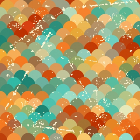Seamless grunge pattern in retro style. Stock Vector - 21535671