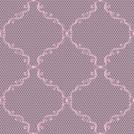 lace background: Old lace background, ornamental flowers. Vector texture. Illustration