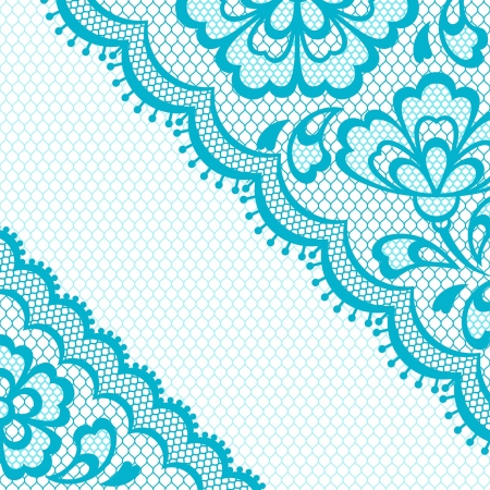 Vintage lace frame, abstract ornament. Vector texture. Vector