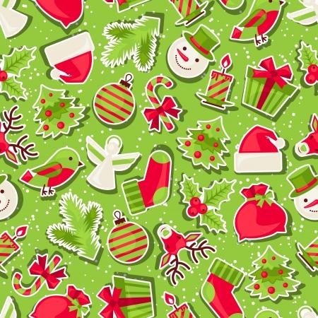Vrolijk Kerst naadloze patroon.