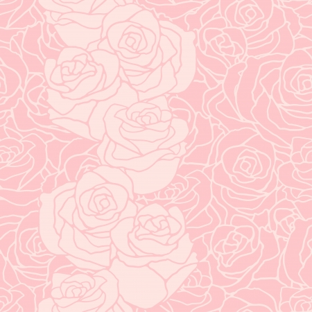 Seamless pattern with flowers roses. Stock Vector - 22380994