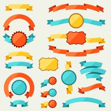 scrap trade: Striscioni, nastri, distintivi, cartellini ed etichette.