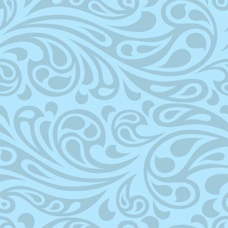 Water Splash vagues sans soudure modèle abstrait.