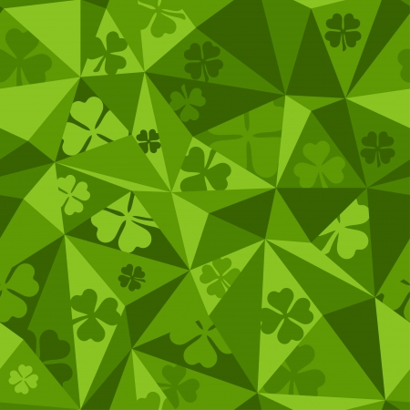 Saint Patricks Day seamless pattern. Vector