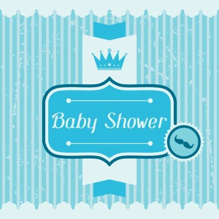 invitacion baby shower: Tarjeta de invitaci�n de la ducha del beb�.