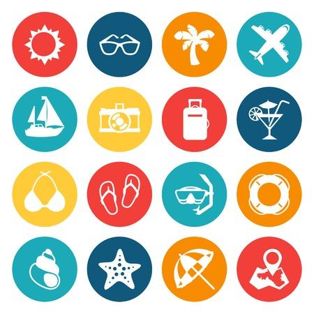 tourismus icon: Reisen und Tourismus Icon Set.