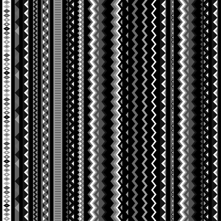 ethno: Ethnic ornament abstract geometric seamless fabric pattern.
