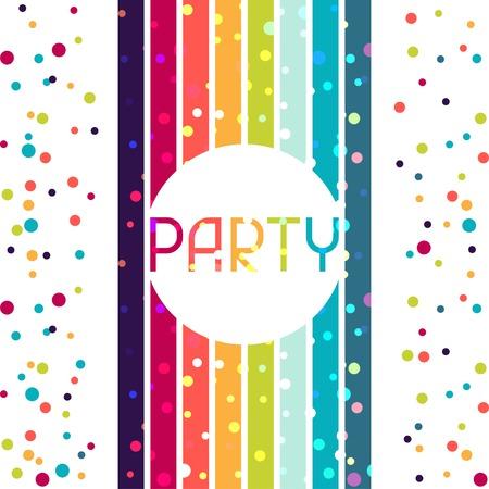 congratulation: Holiday celebration background design for party invitation.