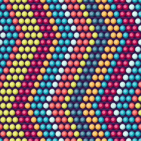 민족 아프리카 구슬 추상 컬러 원활한 패턴입니다. 일러스트