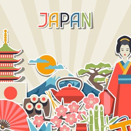 Japon la conception de fond.