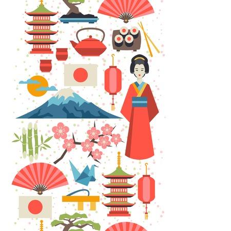 Japan naadloos patroon. Stockfoto - 36802073