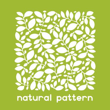 Achtergrond van abstracte bladeren voor wenskaarten.
