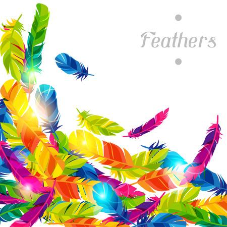 明るい抽象的な透明な羽を持つカラフルな背景 写真素材 - 40101118