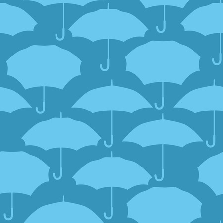 trend: Seamless pattern with umbrellas for background design.