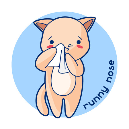 Sick cute animal.