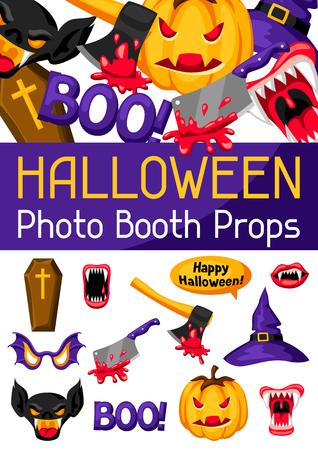 Halloween-Fotokabine Requisiten Zubehör für Festival und Party
