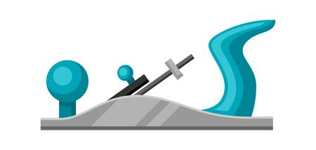 Ilustración de la ensambladora en el fondo blanco aislada. Ilustración de vector