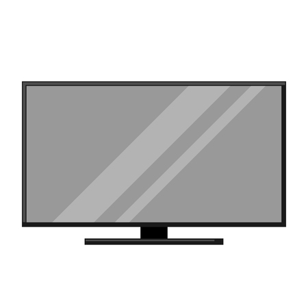 Icon of television. Home appliance flat illustration. Ilustrace