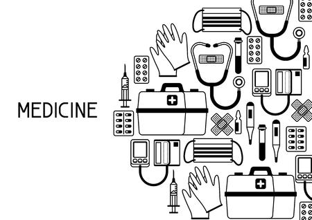 First aid kit equipment