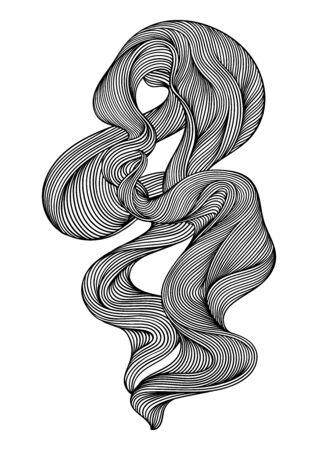 Monochrome stripes black and white texture.