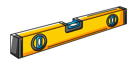 Illustration of screwdriver. Repair working tool. Equipment for construction industry and business. Ilustrace