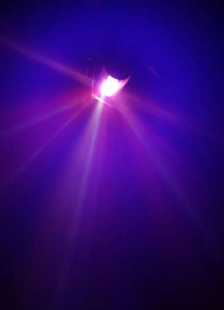 Un peu flou et la lumière de lampes à rayons Concert 3 Banque d'images - 4587163