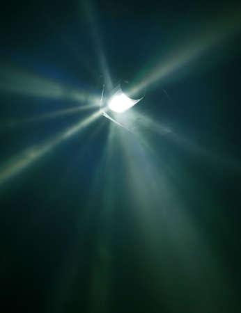 Un peu flou et la lumière de lampes à rayons Concert 2 Banque d'images - 4587164