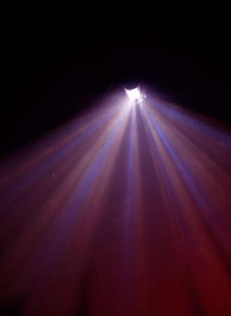 Un peu flou et la lumière de lampes à rayons Concert 1 Banque d'images - 4587166