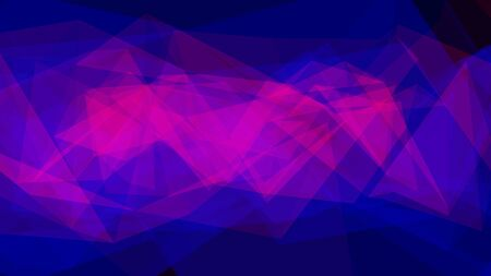 Simple Red and Blue Abstract Moving Geometric Triangle Wallpaper - Abstract Background Texture