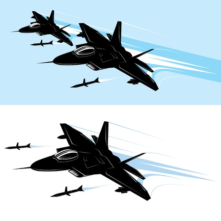 F-22 Raptor Warplane