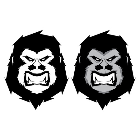 yeti: Gorilla head mascot