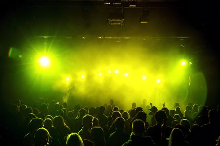 musik: Yellow Light Stock Photo