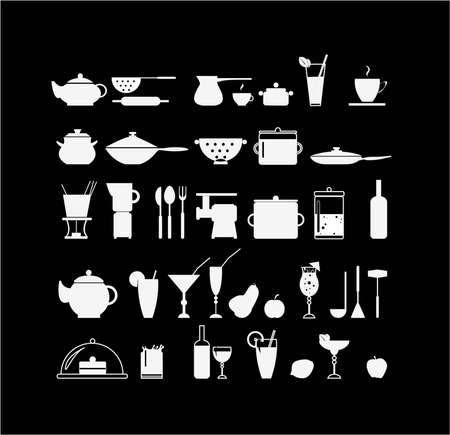 measuring spoons: Cook icons
