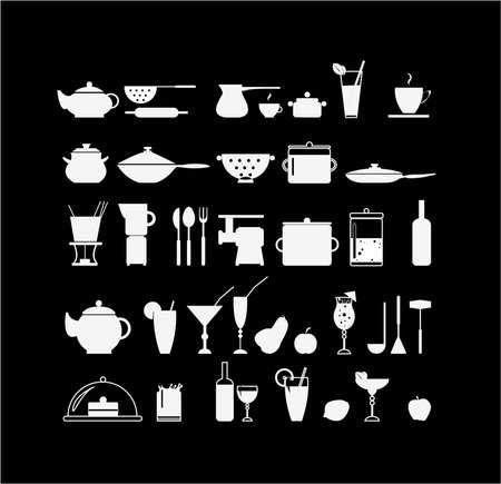 soup spoon: Kook iconen
