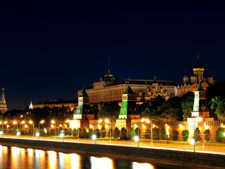 The Kremlin, Moscow at night