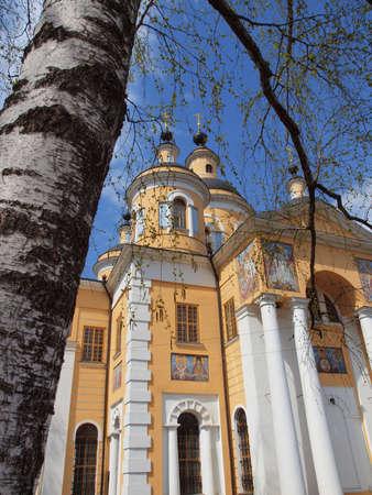Kazan Cathedral of the Holy Dormition Monastery Vyshenskaya Russia