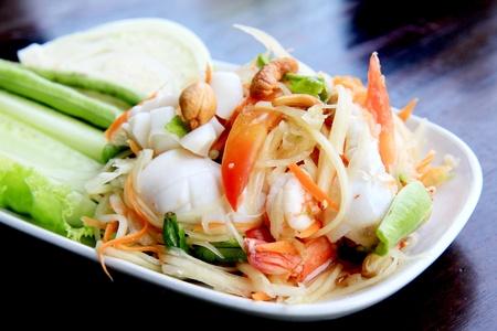 somtum: Som Tum, Traditional Thai Food
